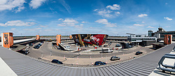 View of Terminal building at Tegel Airport in Berlin, Germany