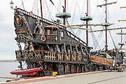 17th century Galleon replica at the Gdynia, Harbour, Poland