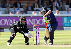 Gloucestershire's Geraint Jones defends - Mandatory byline: Robbie Stephenson/JMP - 07966 386802 - 19/09/2015 - Cricket - Lord's Cricket Ground - London, England - Gloucestershire CCC v Surrey CCC - Royal London One-Day Cup Final