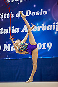 "Narmina Samadova of Azerbaijan Team during the ""7th tournament city of Desio"", 09 March 2019."