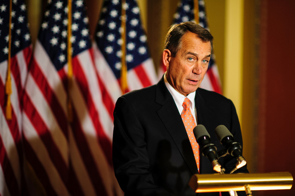 Speaker of the House JOHN BOEHNER (R-OH) said the House would pass his ?Plan B? on Thursday to give permanent tax relief for 99.81 percent of the American people during a press availability on Capitol Hill Wednesday that lasted less than a minute.