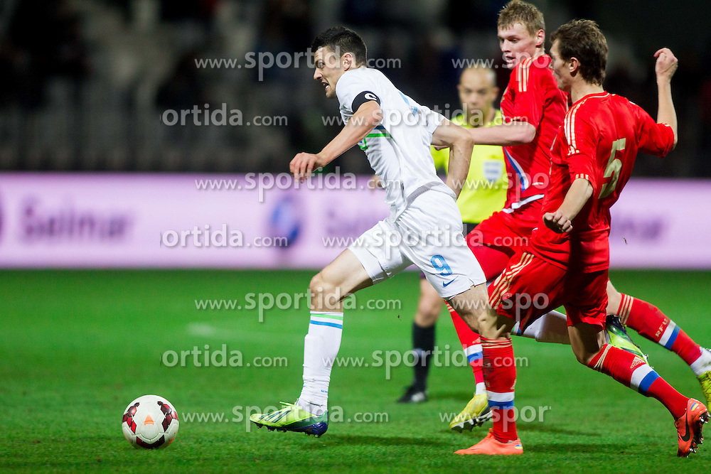 Haris Vuckic of Slovenia during football match between U21 National Teams of Slovenia and Russia in 6th Round of U21 Euro 2015 Qualifications on November 15, 2013 in Stadium Bonifika, Koper, Slovenia. Russia defeated Slovenia 1-0. Photo by Vid Ponikvar / Sportida