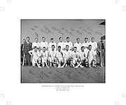 All-Ireland Senior Hurling Final, Cork v Galway, at Croke Park..Cork 3-3 | Galway 0-8.Galway Team.06.09.1953