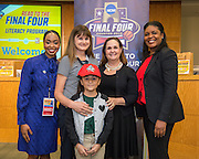 Patterson Elementary School is recognized during the reveal of the 32 finalists in the Houston ISD NCAA Read to the Final Four, November 11, 2015.
