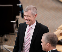 First Minister's Questions in the Scottish Parliament<br /> <br /> Thursday, 19th September 2019<br /> <br /> Pictured: Scottish Liberal Democrat leader Willie Rennie<br /> <br /> Alex Todd | Edinburgh Elite media