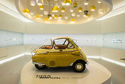 BMW Isetta from 1955 at BMW Museum in Munich Germany