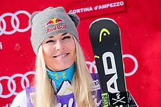 Skiing - Cortina d'Ampezzo FIS World Cup - Italy - 19 January 2018
