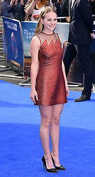 Britt Robertson attends Disney's Tomorrowland -  A World Beyond UK film premiere at Odeon Cinema, Leicester Square, London on Sunday May 17, 2015