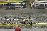 Poznan, POLAND.  2006, FISA, Rowing World Cup the Ireland's men's lightweight four Gold medal winners on the  'Malta Regatta course;  Poznan POLAND, Sat. 17.06.2006.  right  to left,  IRL LM4-. Gearoid  Towey, Eugene Coakley, Richard Archibald and Paul Griffen. © Peter Spurrier   ....[Mandatory Credit Peter Spurrier/ Intersport Images] Rowing Course:Malta Rowing Course, Poznan, POLAND
