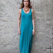 Napoli, Italy, June 11, 2016. Valeria Parrella, Italian writer.
