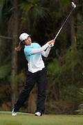 Yu Liu during the fourth round of the LPGA Qualifying Tournament Stage Three at LPGA International in Daytona Beach, Florida on Dec. 5, 2015.<br /> <br /> ©2015 Scott A. Miller
