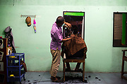 Barbershop located in Yogjakarta, central Java
