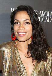 What Goes Around Comes Around 1 Year Anniversary event at Their Retail Store in Beverly Hills, California on 10/11/17. 11 Oct 2017 Pictured: Rosario Dawson. Photo credit: River / MEGA TheMegaAgency.com +1 888 505 6342