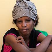 eritrea cristiana, è sbracata a Lampedusa dopo essere passata da Sudan e Libia. Vuole chiedere asilo politico alla Norvegia.