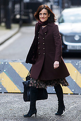 © Licensed to London News Pictures. 03/03/2015. LONDON, UK. Northern Ireland Secretary Theresa Villiers attending to a cabinet meeting in Downing Street on Tuesday, 3 March 2015. Photo credit: Tolga Akmen/LNP