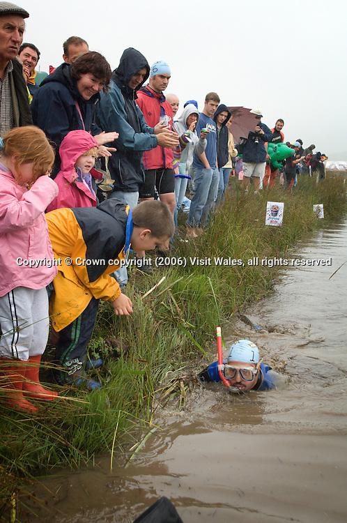 World Championships 2005<br /> Bog Snorkelling<br /> Llanwrtyd Wells<br /> Events