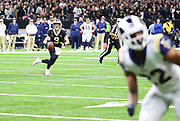 Jan 20, 2019; New Orleans, LA, USA; New Orleans Saints quarterback Drew Brees (9) looks for an open receiver during the NFC Championship against the Los Angeles Rams at Mercedes-Benz Superdome. The Rams beat the Saints in overtime 26-23 and head to Super Bowl 53 in Atlanta. (Steve Jacobson/Image of Sport)