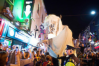 MACNAS Celebrate their 30th Anniversary<br /> <br /> with Halloween Parades in<br /> <br /> Galway and Dublin this Bank Holiday Weekend<br /> <br /> &ldquo;Savage Grace&rdquo; Macnas Halloween Parade in Galway:<br /> 5.30pm, Sunday October 30, 2016<br />  <br /> &ldquo;Sleep No More&rdquo; Halloween Parade in Dublin:<br /> 5.30pm, Monday October 31, 2016 (Bram Stoker Festival) <br />  Photo :Andrew Downes, XPOSURE