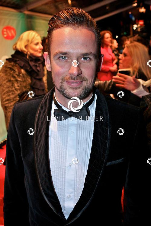 AMSTERDAM - Patrick Martens op de premiere van de film Loft dinsdag in Amsterdam. De film is vanaf 16 december in de Nederlandse bioscopen te zien. FOTO LEVIN DEN BOER - PERSFOTO.NU