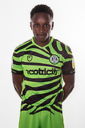 Forest Green Rovers Shawn McCoulsky(21) during the official team photocall for Forest Green Rovers at the New Lawn, Forest Green, United Kingdom on 29 July 2019.