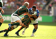 Paris, FRANCE - 9th September 2007,  during the Rugby World Cup, pool A, match between South Africa and Samoa held at Parc Des Princes Stadium in Paris, France...Photo by RG/Sportzpics.net