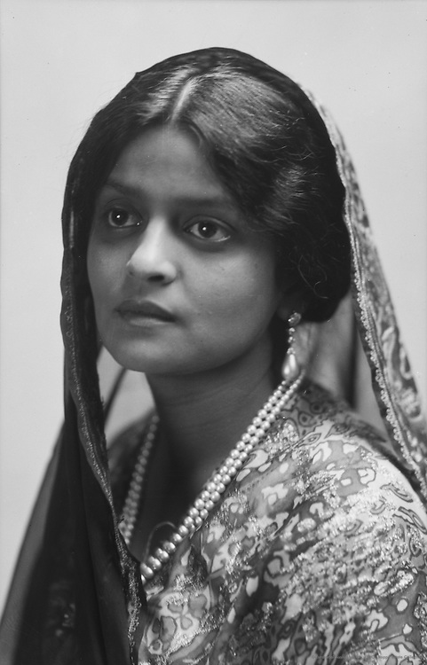 Indira Devi, the Maharani of Cooch Behar, 1919