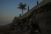 Erosion on the beaches of Seminak - Bali revisited February 2017