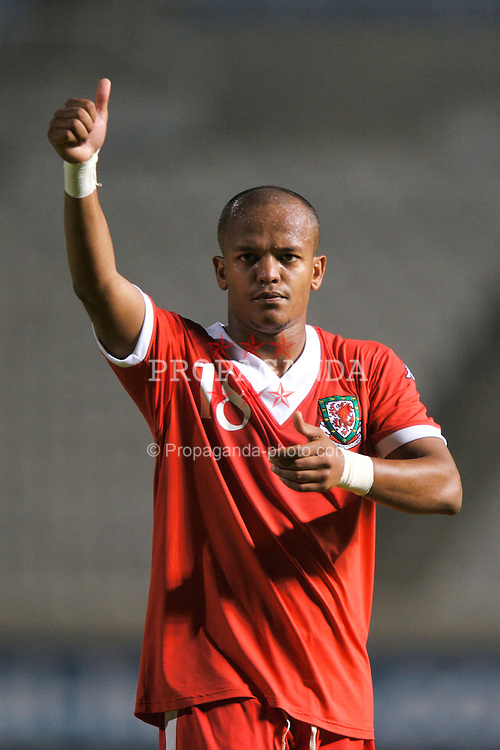 Nicosia, Cyprus - Saturday, October 13, 2007: Wales' Robert Earnshaw looks dejected after the 3-1 defeat at the hands of Cyprus during the Group D UEFA Euro 2008 Qualifying match at the New GSP Stadium in Nicosia. (Photo by David Rawcliffe/Propaganda)