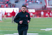 Bob Diaco during Nebraska's game vs. Wisconsin at Memorial Stadium in Lincoln, Neb. on Oct. 7, 2017. Photo by Paul Bellinger, Hail Varsity
