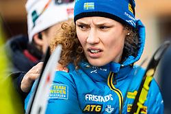 March 10, 2019 - –Stersund, Sweden - 190310 Hanna Öberg of Sweden looks dejected after the Women's 10 km Pursuit during the IBU World Championships Biathlon on March 10, 2019 in Östersund. 10, 2019 in Östersund..Photo: Johan Axelsson / BILDBYRÃ…N / Cop 245 (Credit Image: © Johan Axelsson/Bildbyran via ZUMA Press)