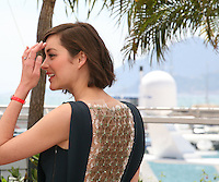 Actress Marion Cotillard at the Blood Ties film photocall at the Cannes Film Festival Monday 20th May 2013