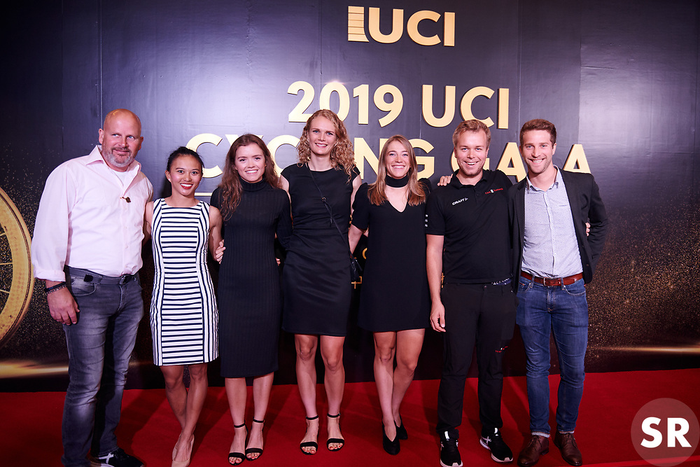 Team Sunweb at UCI Cycling Gala 2019 in Guilin, China on October 22, 2019. Photo by Sean Robinson/velofocus.com