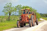 Tractor near Floro Perez,  Holguin, Cuba.
