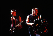 Photo of Adam and Larry U2  Live - Wembley Stadium - Joshhua Tree tour 1987