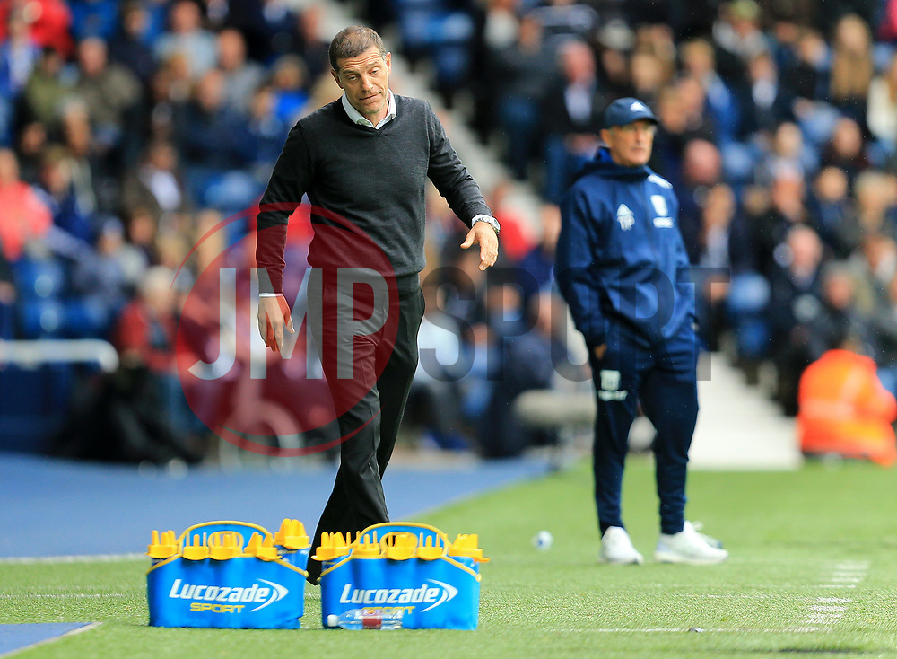 West Ham United manager Slaven Bilic looks dejected - Mandatory by-line: Paul Roberts/JMP - 16/09/2017 - FOOTBALL - The Hawthorns - West Bromwich, England - West Bromwich Albion v West Ham United - Premier League