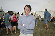 Rory Knight-Bruce, The Cornish Birthday party to Celebrate John Betjeman's Centenary. Carruan Farm. Polzeath. Conrwall. In aid of the new Padstow Lifeboat Station. 28 August 2006. ONE TIME USE ONLY - DO NOT ARCHIVE  © Copyright Photograph by Dafydd Jones 66 Stockwell Park Rd. London SW9 0DA Tel 020 7733 0108 www.dafjones.com