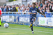 Leeds United midfielder Helder Costa (17) passes the ball during the Pre-Season Friendly match between Guiseley  and Leeds United at Nethermoor Park, Guiseley, United Kingdom on 11 July 2019.