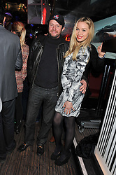 NOELLE RENO and SCOT YOUNG at the ELEQT Global Launch Party held at the Rose club, 23 Orchard Street, London, W1 on 23rd February 2012. ELEQT is the world's most exclusive international luxury lifestyle social network.