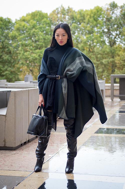 Tina Leung at Palais du Tokyo SS2018