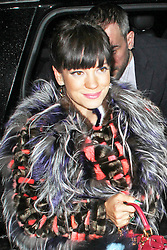 © Licensed to London News Pictures. 01/05/2014, UK. Lily Allen, Fendi - Store Launch Party, New Bond Street, London UK, 01 May 2014. Photo credit : Brett D. Cove/Piqtured/LNP