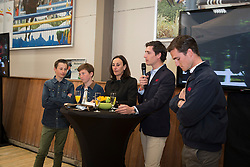 Ludo Philippaerts, (BEL) farewell from the sport together with his family Veronique, Olivier, Nicola, Thibault and Anthony<br /> Stoeterij Dorperheide - Meeuwen Gruitrode  2015<br />  © Hippo Foto - Dirk Caremans<br /> 28/04/15