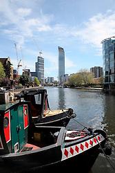 UK ENGLAND LONDON 30APR16 - London Canal boats near Haggerston, east London.<br /> <br /> jre/Photo by Jiri Rezac<br /> <br /> © Jiri Rezac 2016
