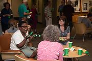 Ohio University celebrates the 50th birthday of Alden Library.