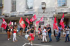 2019-07-12 IWGB protest at University of London