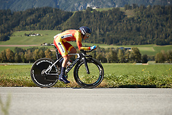 Mavi Garcia (ESP) at UCI Road World Championships 2018 - Elite Women's ITT, a 27.7 km individual time trial in Innsbruck, Austria on September 25, 2018. Photo by Chris Auld/velofocus.com