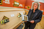 Poor man's picture gallery: Victorian Art and Stereoscopic Photography at the Tate Britain - a rare collection of Victorian stereographic photographs. Lent by Astronomer and Queen guitarist Dr Brian May (pictured). This is the first display in a major British art gallery devoted to the nineteenth-century craze of three-dimensional photography. It is also accompanied by a book launch with viewer to see the 3-d images. Guy Bell, 07771 786236, guy@gbphotos.com