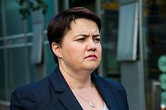 Ruth Davidson casts her vote in EU Referendum | Edinburgh | 23 June 2016