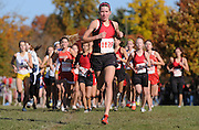 Diane Robison, Parkway Central, finished 2nd in the Class 4 District 2 cross country meet at Parkway Central High School Saturday Oct. 24.