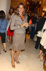 "COUNTESS DEBONAIRE VON BISMARCK at a party hosted by Christopher Bailey to celebrate the launch of ""The Snippy World of New Yorker Fashion Artist Michael Roberts"" held at Burberry, 21-23 New Bond Street, London on 20th September 2005.<br />