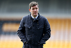 Bristol Rovers manager Darrell Clarke arrives at Vale Park for the Sky Bet League One fixture against Port Vale - Mandatory by-line: Robbie Stephenson/JMP - 18/02/2017 - FOOTBALL - Vale Park - Stoke-on-Trent, England - Port Vale v Bristol Rovers - Sky Bet League One
